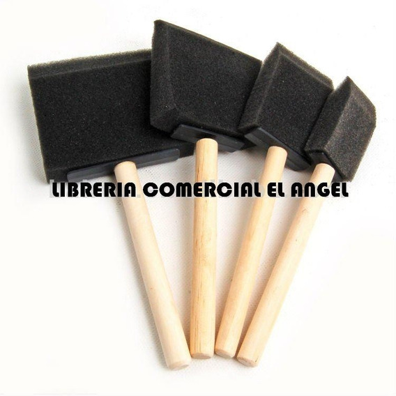Pincel De Goma Espuma X5 Unidades Artmate - Pinceles Esponja
