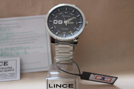 Relógio Lince Mrmh017s-pbsx Masculino Fundo Preto