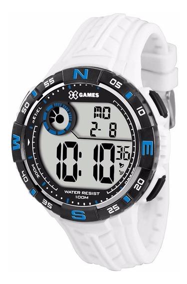 Relógio X-games Masculino Digital Xmppd324 Bxbx Branco