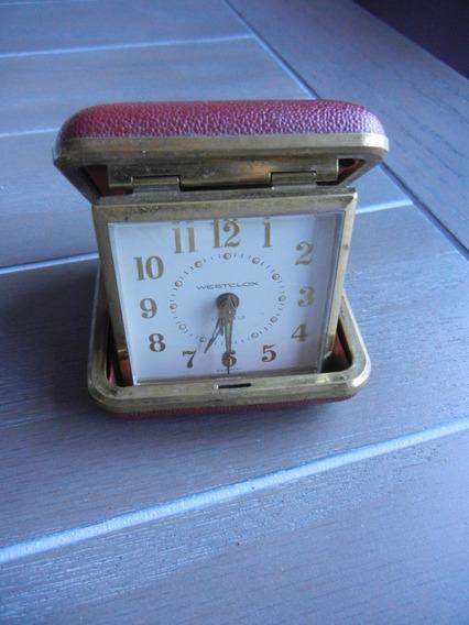 Antiguo Reloj Westclox 7 Joyas Portatil
