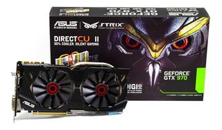 Tarjeta De Video Asus Strix 4gb Nvidia Gtx 970 Oc