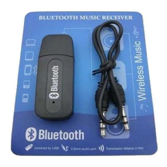 Receptor Bluetooth Usb P2 Áudio Stereo F