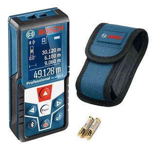 Trena Laser De Distâncias Bluetooth Bosch Glm 50c