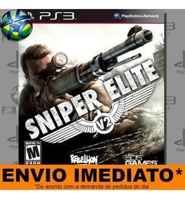 Sniper Elite V2 | Jogo Ps3 | Midia Digital Psn - Envio Agora