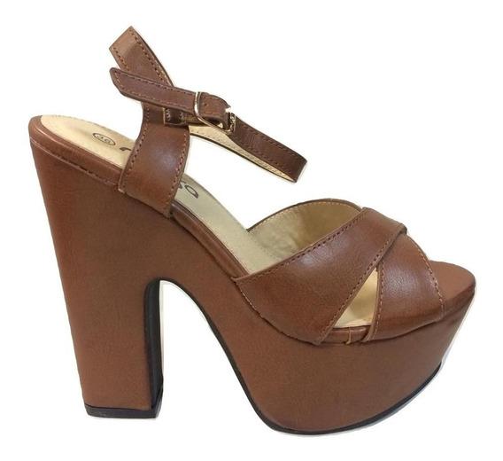 Sandalia Plataforma Mussa Confort