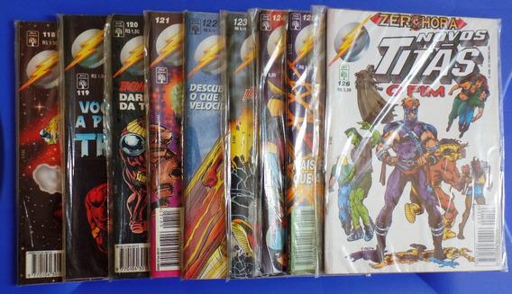 Lote Gibi Novos Titãs 1994 - 1995 - 1996 Total 18 Revistas