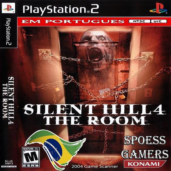 Silent Hill 4 The Room Ps2 Legendado Patch Desbloqueado Me
