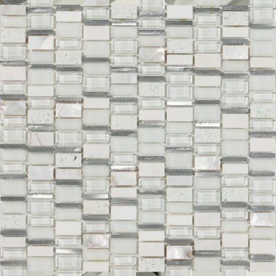 Malla Decorativa Muro Mod. Madrid Crema (30x30) Importación
