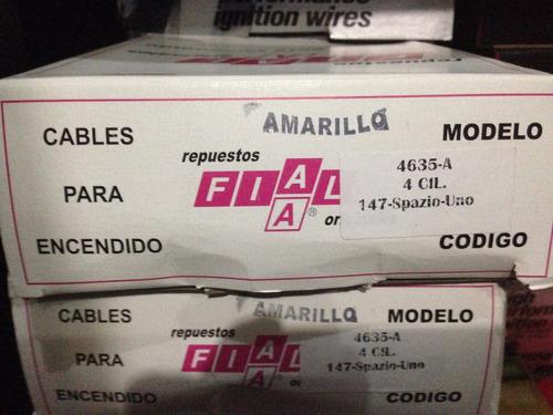 Cable Bujia Distribucion Fiat Uno, 147 Y Spazio