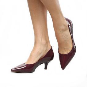 b74af3d42 Scarpin Cor Vinho Scarpins - Sapatos para Feminino com o Melhores ...