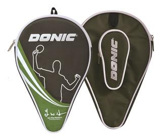 Capa Case Raqueteira Tênis De Mesa Donic Waldner - Verde