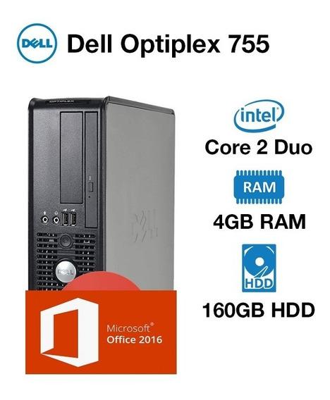 Cpu Dell Optiplex 755 Core 2 Duo E8200 4gb Ddr2 Hd 160gb