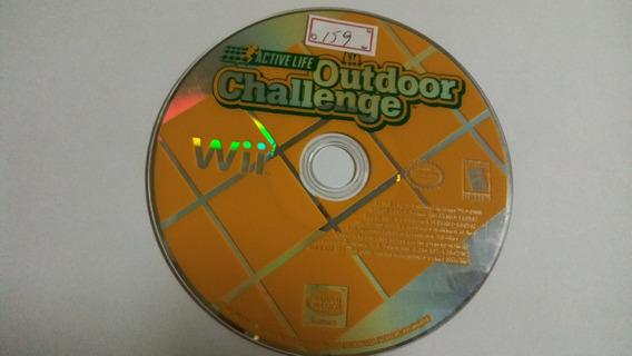 Nintendo Wii Active Life Outdoor Challenge Original American