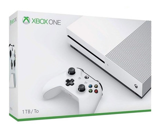Consola Xbox One S Microsoft 1tb 4k Hdr Hdmi Nueva