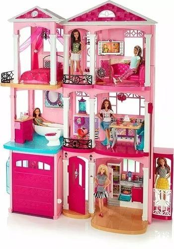 Casa Dreamhouse Da Barbie 3 Andares House