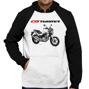 Moletom Moto Honda Cb 250 F Twister Branca