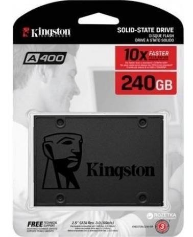 Hd Ssd Kingston A400 240gb 6gb/s Pc Notebook