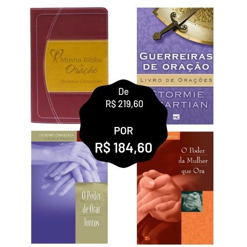Kit Promocional Stormie Omartian - 3 Livros + 1 Bíblia