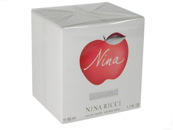 Perfume Nina Ricci Eau De Toilette 50 Ml Original Importado
