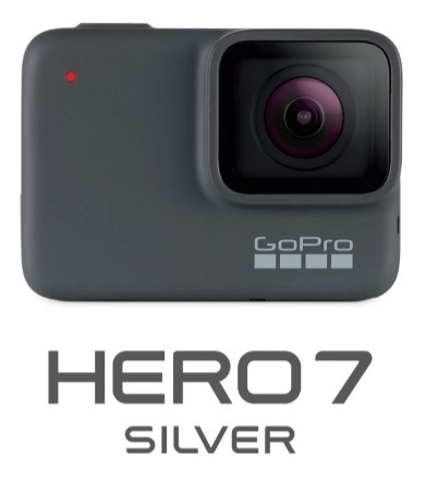 Go Pro Hero 7 Silver + Cartão 64gb + Acessorios.