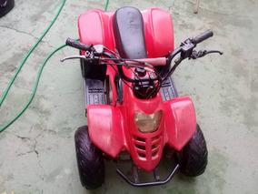 Quadriciclo 100cc Vermelho - Pouco Usado !!
