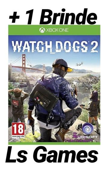 Watch Dogs 2 Mídia Digital Xbox One + Brinde