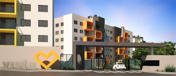 Apartamento Residencial Vista Oficinas À Venda, Colônia Dona Luiza, Ponta Grossa. - Ap0007