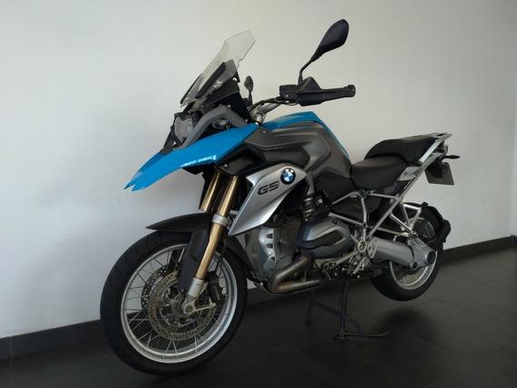 Bmw 1200 Gs 2015 Azul .