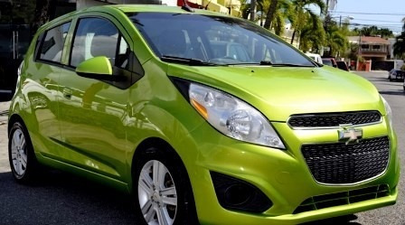 Chevrolet Spark Verde Carfax Importado 14