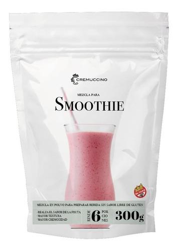 Mixea Frutas En Licuados Con Smoothie 300gr Cremuccino