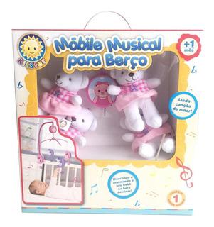 Mobile Musical P/ Berço Ursa Bailarina 415b Kitstar