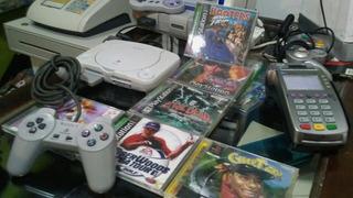 Playstation 1 + Chip + 10 Juegos + 1control