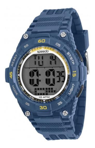 Relógio Speedo Masculino Digital Azul Original Nota Fiscal