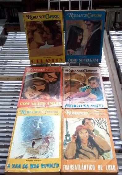 Romance Capricho 6 Volumes Varios Numeros-de Bolso
