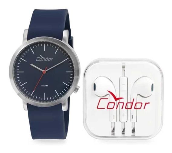 Relógio Masculino Condor Analógico Co2035ktn/k3a - Azul