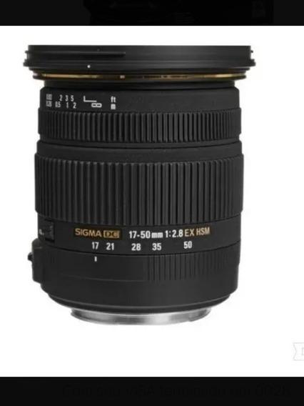 Lente Canon Sigma 17 50 Mm