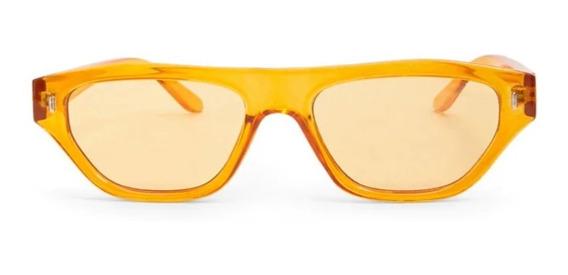 Lentes De Sol Naranjas Transparentes Forever 21 Nuevos