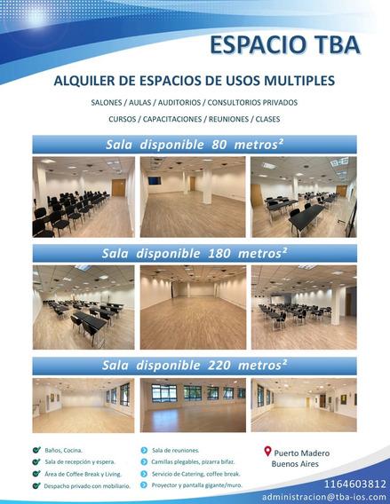 Sala Consultorio Aula Curso Capacitaciones Alquiler Hora/dia