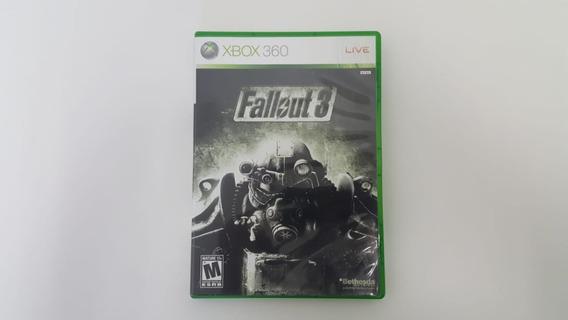 Fallout 3 - Xbox 360 - Original - Usado - Mídia Física
