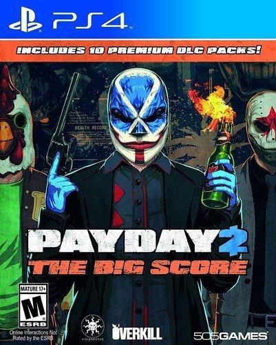 Payday 2 : The Big Score - Ps4 Lacrado