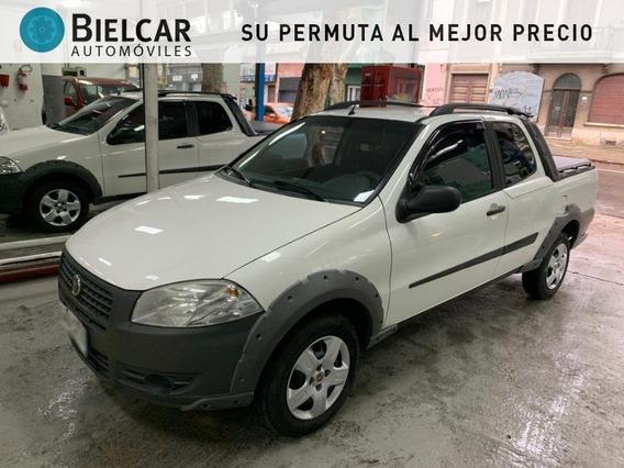 Fiat Strada Working Doble Cabina 1.4 2014 Muy Buen Estado