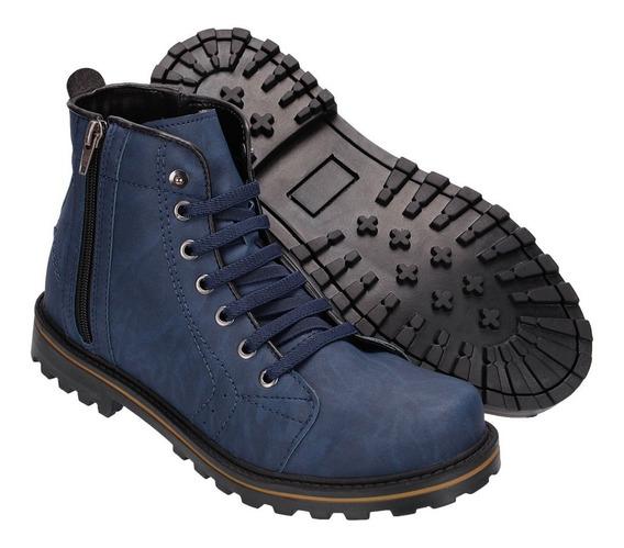 Bota Sapato Coturno Casual Social Masculino Khaata Ref:9004