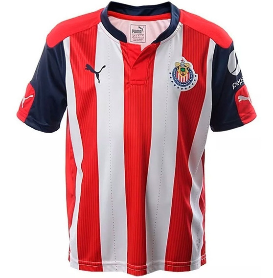 Playera Jersey Club Chivas Guadalajara Niño 01 Puma 762311