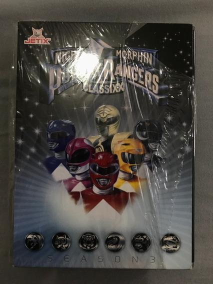 Mighty Morphin Power Rangers Classixx Season 3 Box Completo