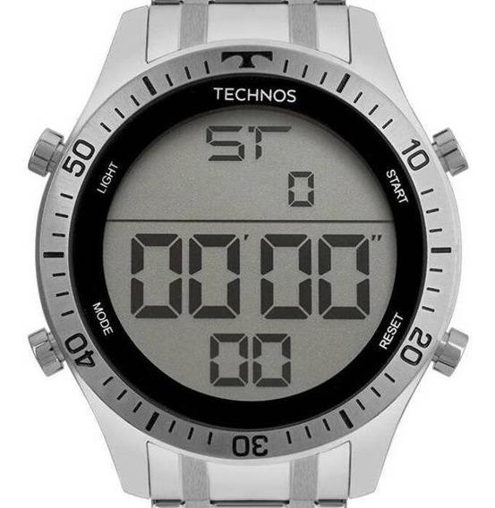 Relógio Technos Masculino Prata Digital T02139ac/1c