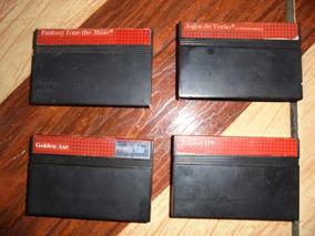 Pack Com 4 Jogos De Master System