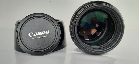 Lente Canon 85mm 1.2 L