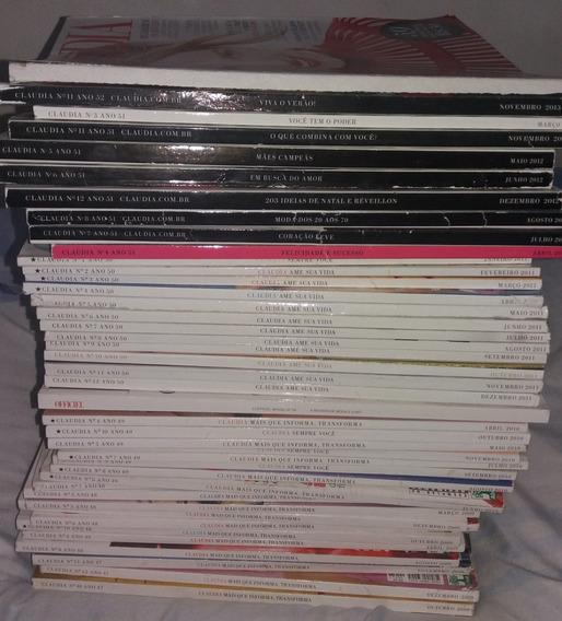 Lote 42 Revistas Claudia Frete Gratis