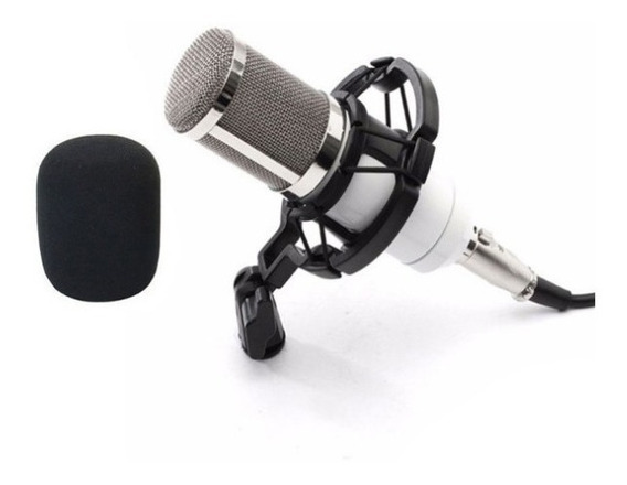 Microfone De Estúdio Profissional De Condensador Bm-800