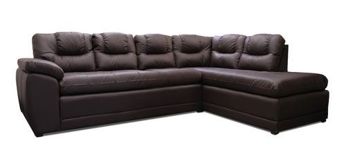 Sala De Piel - Verona - Esquinera - Sofa Y Chaise - Conforto